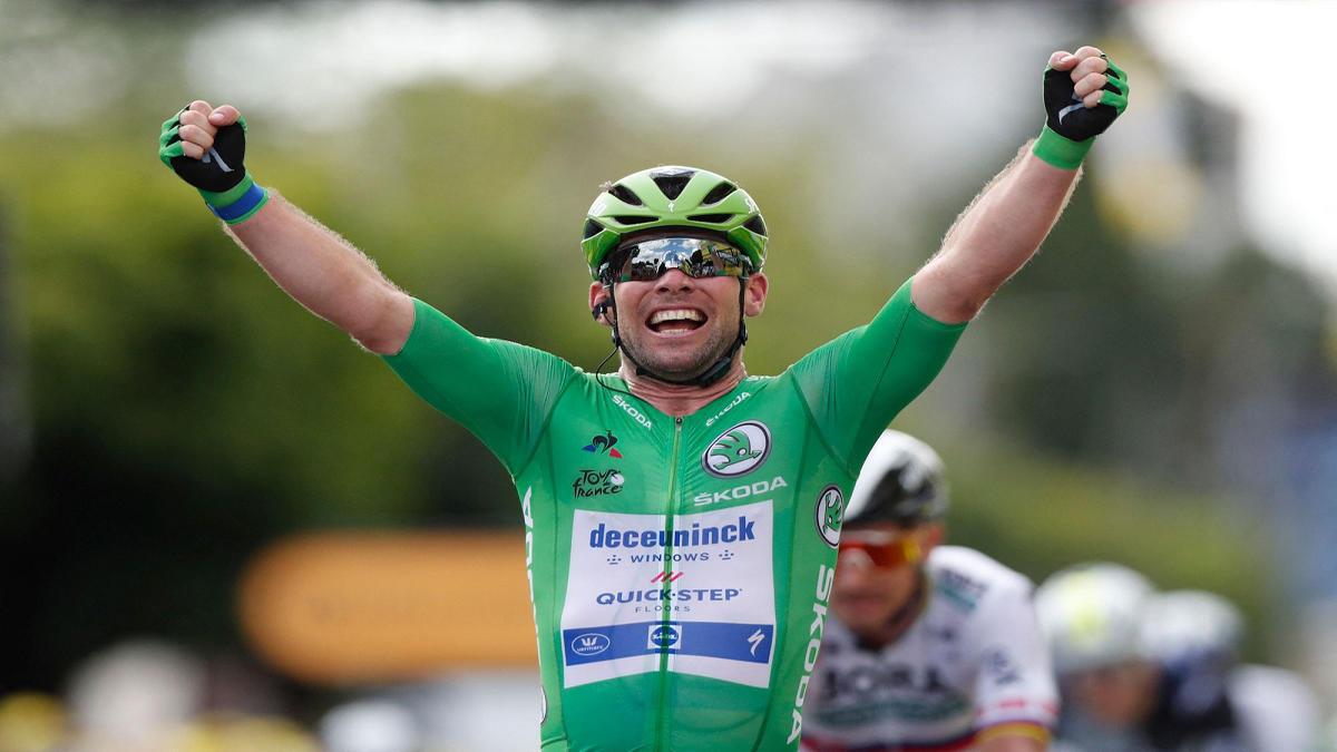 Tour de France Mark Cavendish Stage Six Win