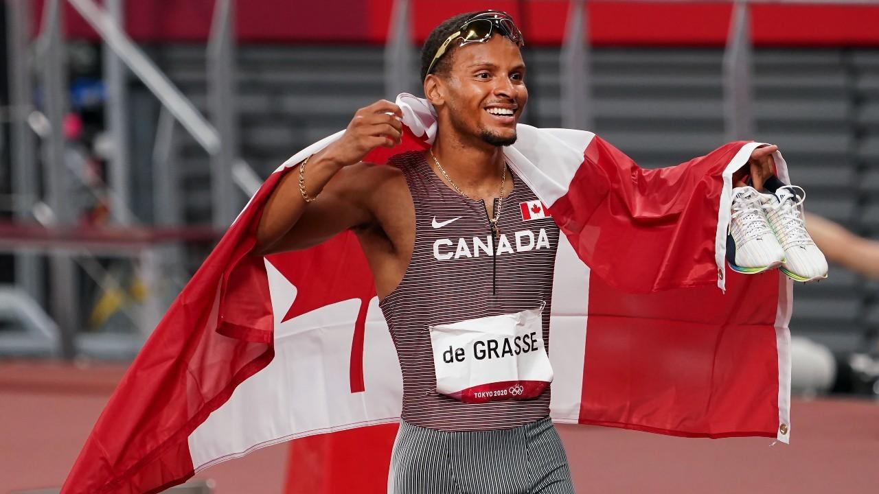 De Grasse claims 200m