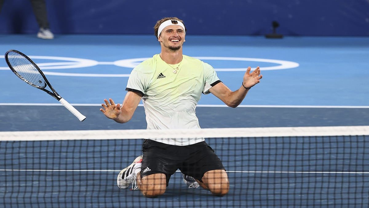 Germanys Alexander Zverev secures mens singles gold