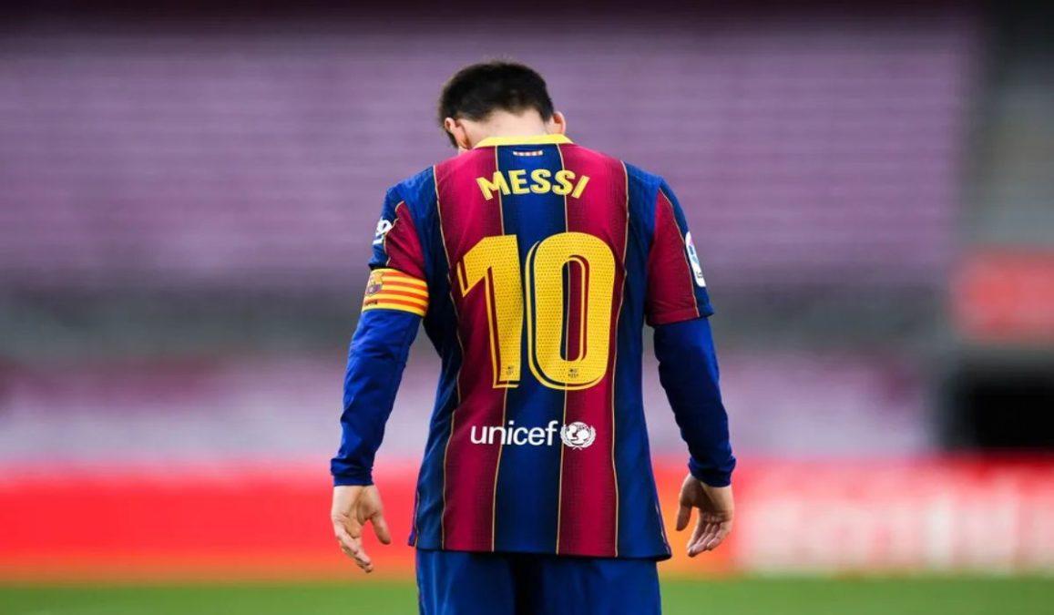 Messi Departs Barcelona