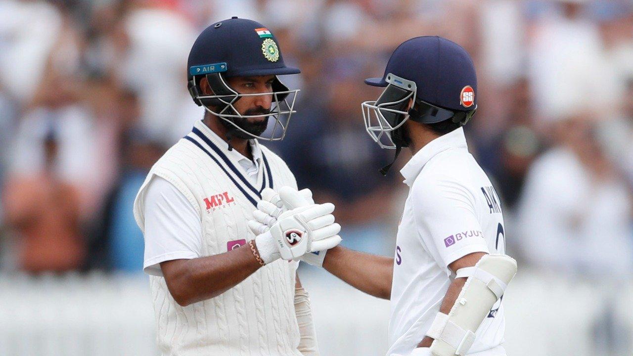 Pujara and Rahane Eng v Ind Day 4