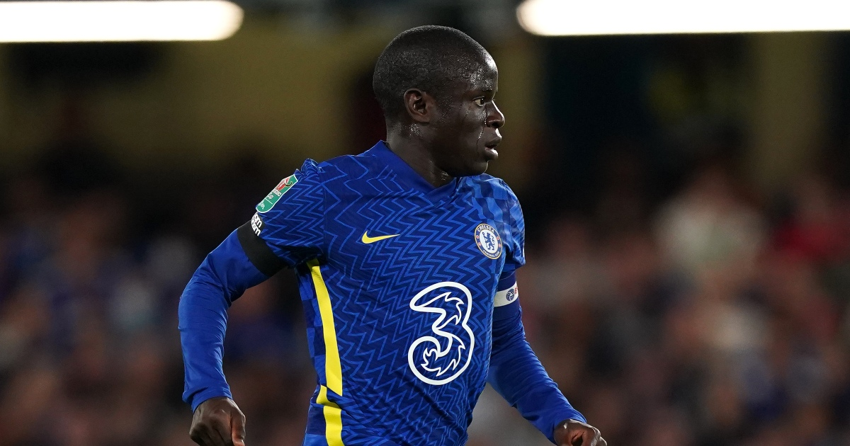 Chelsea Midfielder Kante Out With Covid