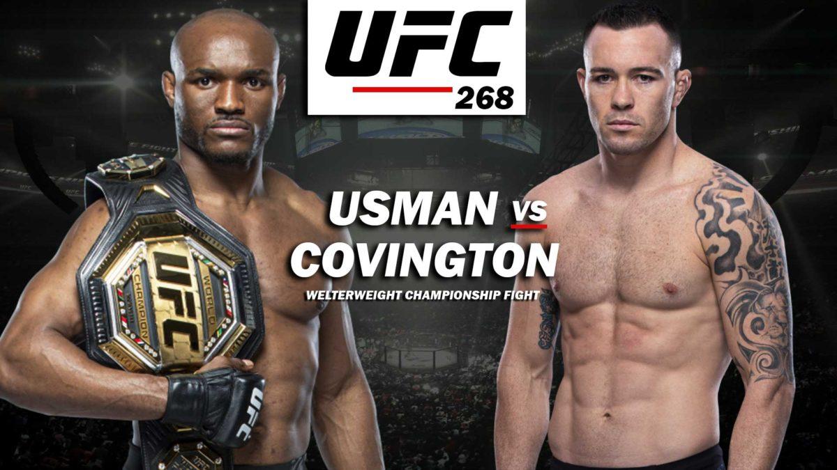 Usman Vs. Covington Ii: The Rematch No Fight Fan Should Miss