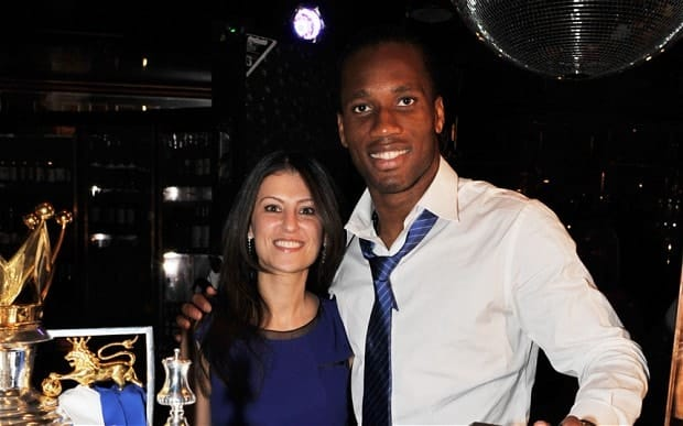 &Quot;Granovskaia And Didier Drogba&Quot;