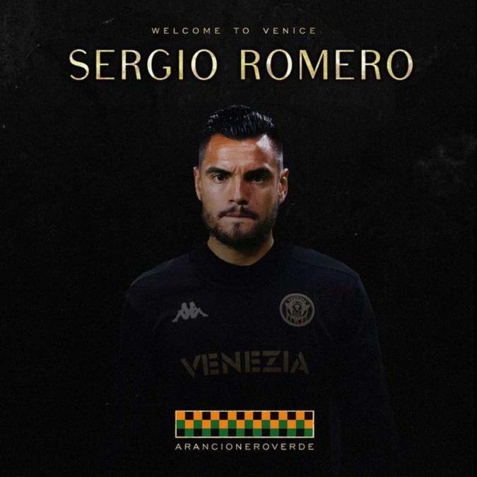 Former Manchester United Goalkeeper Sergio Romero Has Joined Venezia