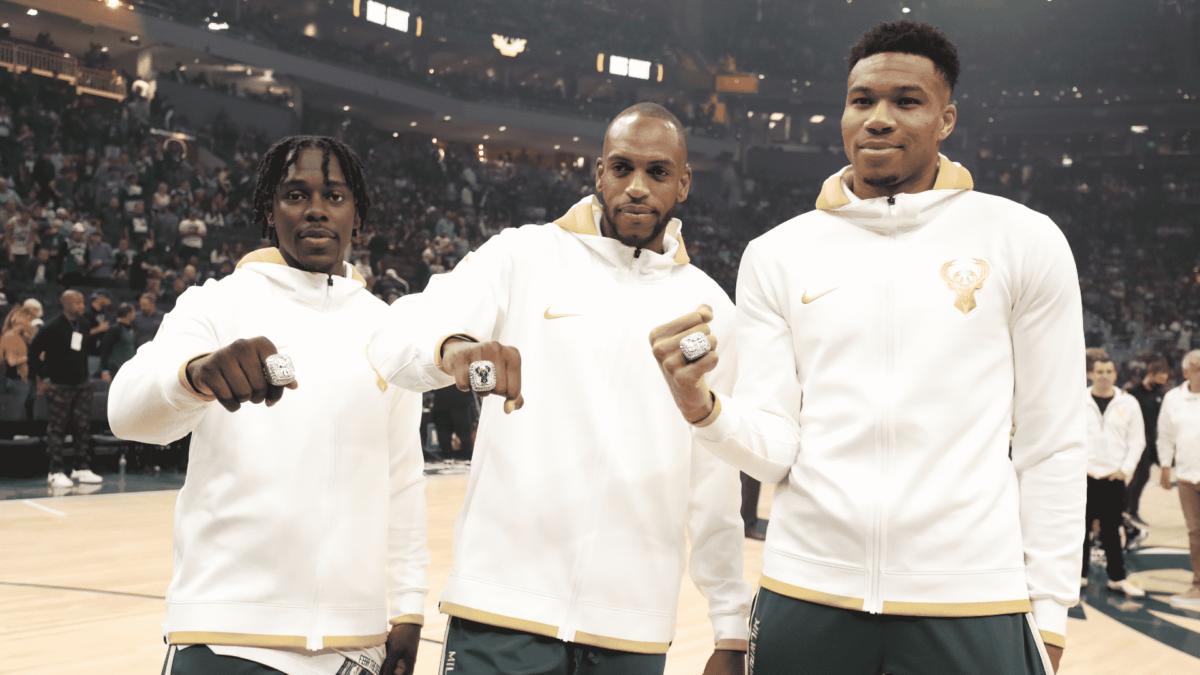 Bucks Big 3 Ring Ceremony