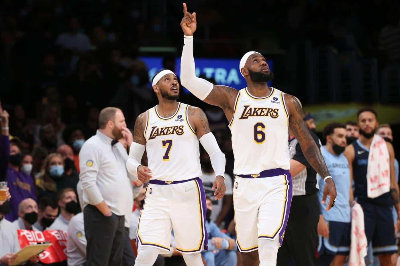 NBA 2021-2022: Carmelo Anthony