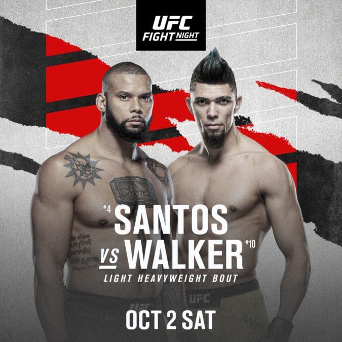 Ufc Fight Night: Santos Vs. Walker Review