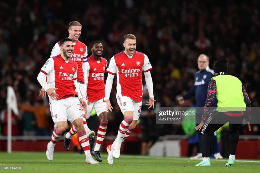 Arsenal 2-0 Leeds: Substitute Chambers Helps Gunners Move To The Quarter-Final Of The Carabao Cup