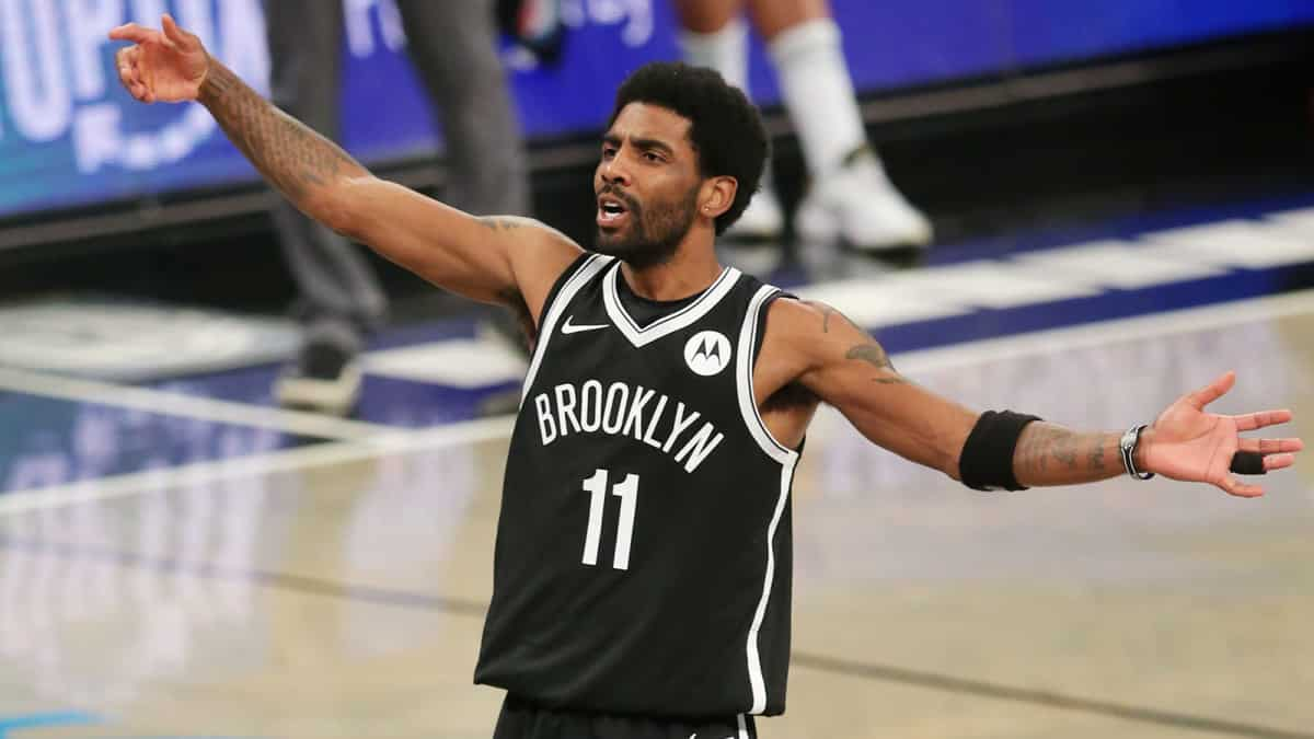 Brooklyn Nets Player Kyrie Irving Won'T Play Until He Is Vaccinated